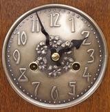 Pewter Dial to the German Arts-and-Crafts clock.