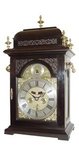 J Mitchell Penny Moon Bracket Clock (Circa 1715).
