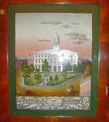 Sperry & Shaw OG Shelf Clock, State House Picture.