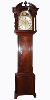 Thomas Wainwright, Red Walnut Longcase Circa (1770).