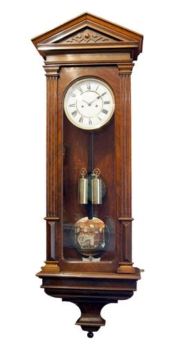 Vienna Regulator Lenzkirch Walnut (Circa1916/17)