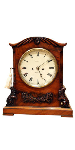 Bracket Clock by W (William) Grace London, (Circa 1850)