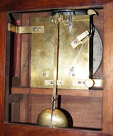 W Grace London, Bracket Clock Movement.