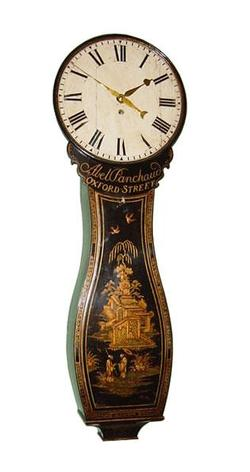 Tavern Clock Abel Panchaud Tear drop