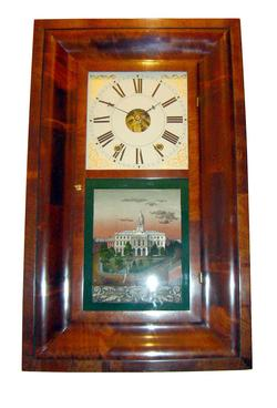 American OG Shelf Clock (Circa 1845) by Sperry & Shaw