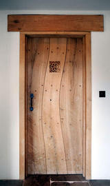 Natural trunk shape Internal door with vent.