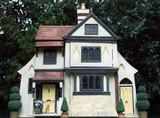 Rendered Tudor Type Cottage, Red Tiled Roof, Large Country House/Lodge,